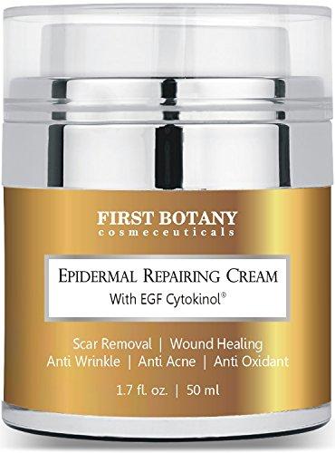 EGF Cytokinol® epidérmico reparación crema 1.7 Oz. Con EGF cotizados Nobel y Ginseng indio reduce la apariencia de las arrugas y ayuda en la cicatrización de heridas, acné y otros retiro de la cicatriz