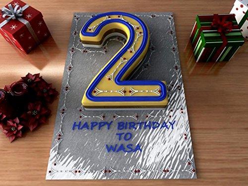 EURO TINS Large Number Wedding Birthday Anniversary Baking Cake Pan 14'' X 10'' (2) by EURO TINS (Image #4)