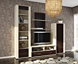 TOMAS Entertaiment Center and TV Stand with Shelves Living Room Furniture