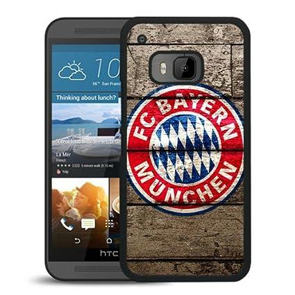 Amazon.com: YTSFC Bayern Munich Logo For HTC ONE M9 Black ...