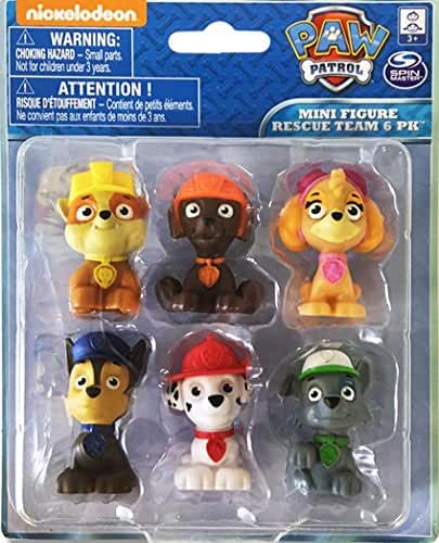 Paw Patrol Figure Set 6 Piece