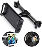 Car Headset Mount, PEYOU 360° Rotation Adjustable Car Headset Phone Tablet Mount Holder for iPhone/iPad/Samsung Galaxy Tab E A S Note/Kindle Fire HD/Nintendo Switch and Other Within 4''-11'' Devices