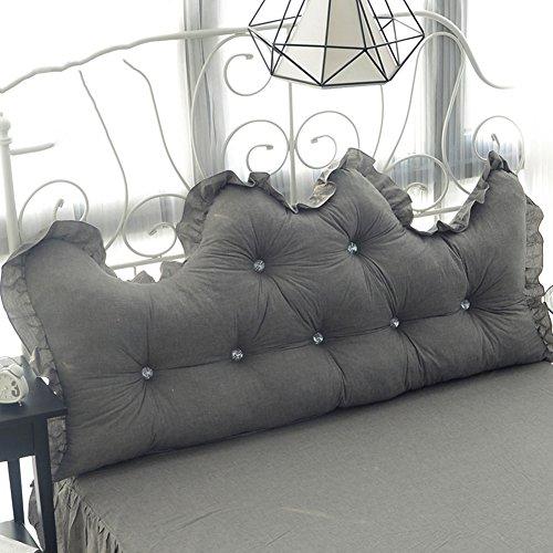 Mat Cushion - Mattress Cotton Lace Back Soft Case Washable - 3 Colors - 4 Sizes -\# (Color : C, Size : 120×50cm)