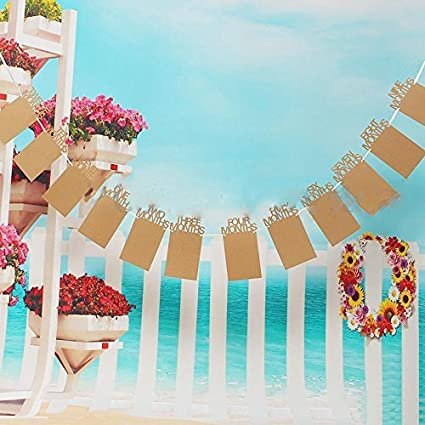 partysanthe newborn baby bunting garland photo frame banner for