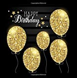 Happy Birthday: Guest Book Color-FILLED Inside Fluer de Lis End Pages Gifts for Men 26th 27th 28th 29th 31st 32nd 33rd 34th 3th 37th 38th 39th 41st ... Birthday Gifts for Men) (Volume 1)