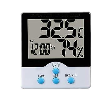 XXLYY TermóMetro HigróMetro para Interiores, Monitor De ...