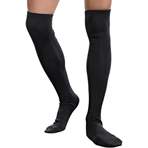088362b35 Mens Soccer Socks,Aniwon Long High Over Knee Compression Socks Athletic  Socks for Mens and