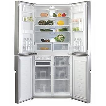 Cda Pc88ss Freestanding Four Door Fridge Freezer Stainless