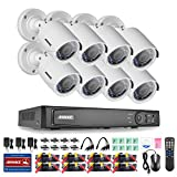 Cheap ANNKE 8 Channel 1080P HD-TVI 2.0 Megapixel Security DVR System and (8) 1920TVL CCTV Cameras with Weather Proof and Motion Detection-NO HDD