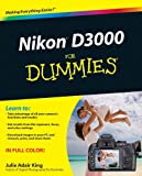 Nikon D3000 for Dummies, Julie Adair King, 0470578947