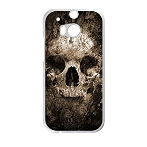 Scary Skull personalized creative custom protective phone case for HTC M8