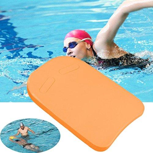 Seater Trainer - Chezaa Swiming Kickboard, Inflatable Swimming Float Swim Board Trainer (Orange)