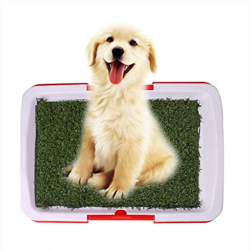 CHBC Pet Dog Potty Toilet Urinary Trainer Grass Mat Pad Patch Indoor Outdoor Home New