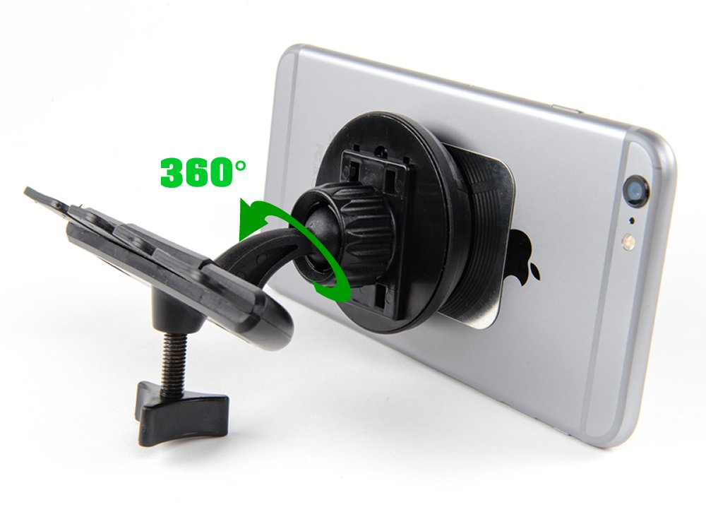 Kebelo M-CD2 Universal Magnetic CD Slot Car Mount Holder for Ipad Smartphone and GPS kebelodirect