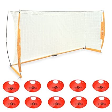 Amazon.com : Bownet Portable Soccer Goal with Frame Carry Bag BOW6 ...