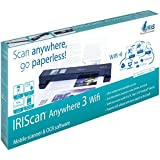 IRIScan Anywhere 3 Wireless Portable 1200 dpi Color Scanner with WiFi