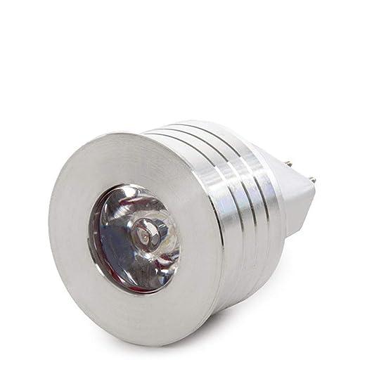 Greenice | Bombilla de LEDs 1W GU5,3 12V 90Lm 30.000H | Blanco Frío