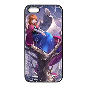 WWWE Frozen Princess Anna Cell Phone Case for Iphone ipod touch4