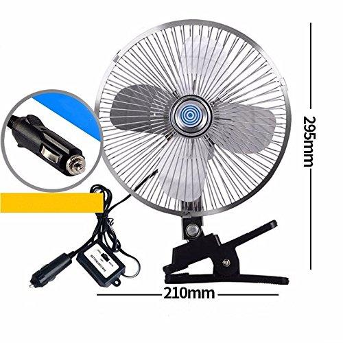 E 12V Ventilateur de voiture//12v//24v//voiture avec ventilateur//grand camion petit ventilateur//grand ventilateur de plafond