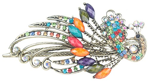Leegoal Vintage Crystal Hairpins Colorful