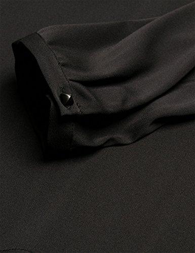 Replay Tunika-Blusa Mujer, negro (black 98)