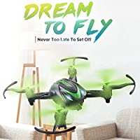 Hanbaili H48 Mini Remote Control Drone For Kids, Aircraft Helicopter Toys with Headless Mode Great Gift for Your Children