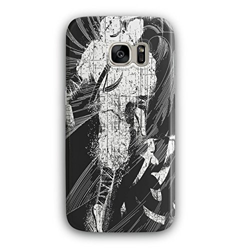 [Asian Ninja Warrior Battle Kick NEW Black 3D Samsung Galaxy S7 Case | Wellcoda] (3 Ninjas Kick Back Costume)