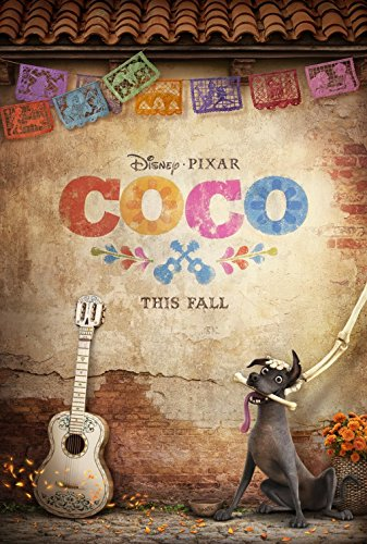 COCO (2017) Authentic Original Movie Poster - Double-Sided - 27x40 - Disney - Pixar