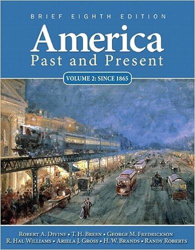 Amazon america past and present brief edition volume 2 8th america past and present brief edition volume 2 8th edition 8th edition fandeluxe Gallery