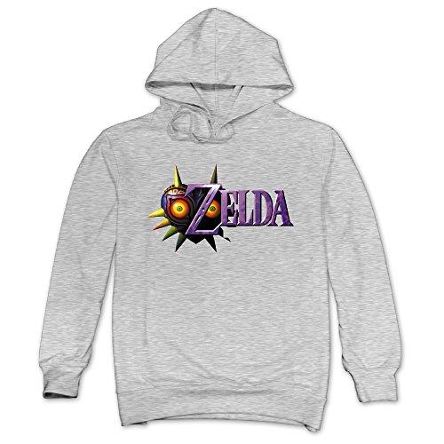 XJBD Men's The Legend Of Zelda Funny Sweater Ash Size XXL
