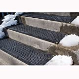 HOT-Blocks Outdoor Heated Anti-Slip Stair Tread Mat, 120 Volts, 11''X38''