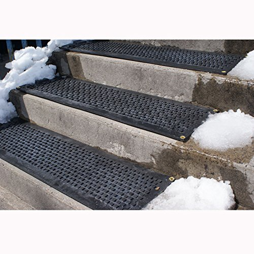 HOT-Blocks Outdoor Heated Anti-Slip Stair Tread Mat, 120 Volts, 11''X38'' by Hotblocks