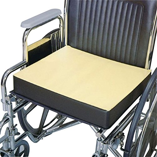 Physical Therapy Aids 081072206 Comfort Foam Wheelchair Cushion, 16''x 2'' by Physical Therapy Aids