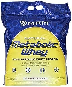 MRM Metabolic Whey Protein,  FrenchVanilla, 10-Pound Box