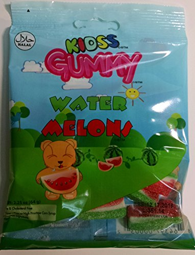 Melon Gummy (Kidss Halal Gummy (Water Melon) - Pack of Three)