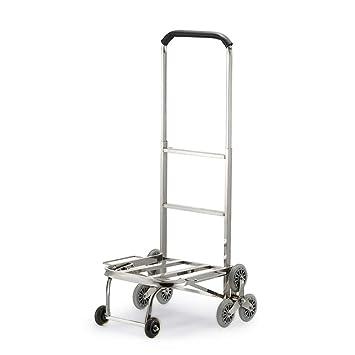 Amazon.com: Xxw - Carro de la compra de acero inoxidable ...