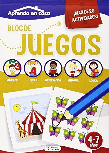 """Bloc De Juegos """"aprendo En Casa"""", Surtido"""