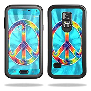 MightySkins Protective Skin Decal Cover for OtterBox Preserver Samsung Galaxy S5 Case Sticker Skins Peace Out