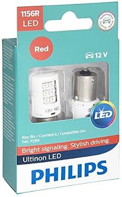 Philips 1156ALED Ultinon LED (Amber)