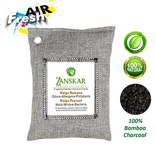 Nature Fresh Air Purifying Bag,Bamboo Charcoal Air Purifier Bags,Odor Eliminators Absorber For Car Closets,Bathroom And Pet Areas,Car Air Freshener And Deodorizer. by Zanskar