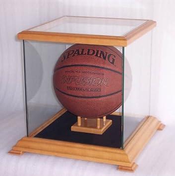 Cristal vitrina para pelota de baloncesto, balón de fútbol, casco ...