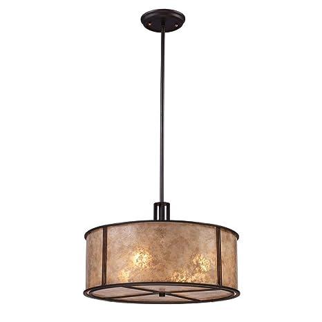 Amazon.com: Iluminación Elk Barringer colgante luz – Aged ...