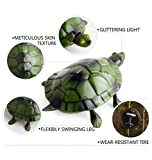 Yeefant Electric Infrared Remote Control Turtle Simulation Animal Crawl Toy New Year Gift For Kids Living Room Bedroom Bookshelf Decoration