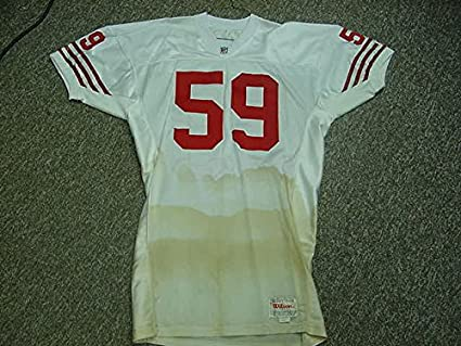 0fd408d40 Image Unavailable. Image not available for. Color  Keith DeLong. San  Francisco 49ers 1991-93 Game Worn Jersey