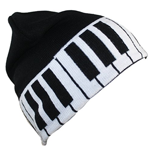 (Ted and Jack Jacks's Classic Style Novelty Beanie In Piano Keys)
