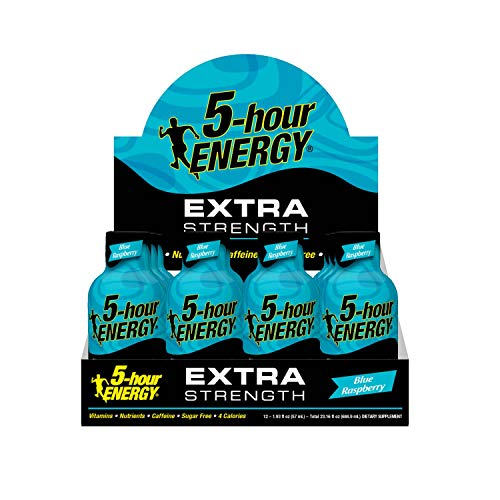 Extra Strength 5-hour ENERGY Shots – Blue Raspberry – 24 Count by 5-hour ENERGY (Image #5)