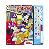 Disney Mickey Mouse Clubhouse Let's Write the Alphabet My Write-and-Erase Board Book with Sound 9781503716902