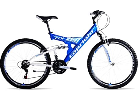 mountainbike 26 zoll capriolo ctx260 vollgefedert 18 gang. Black Bedroom Furniture Sets. Home Design Ideas