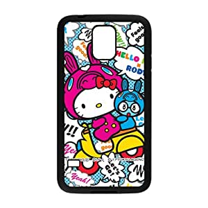 HGKDL Hello kitty Phone Case for samsung galaxy S5 Case