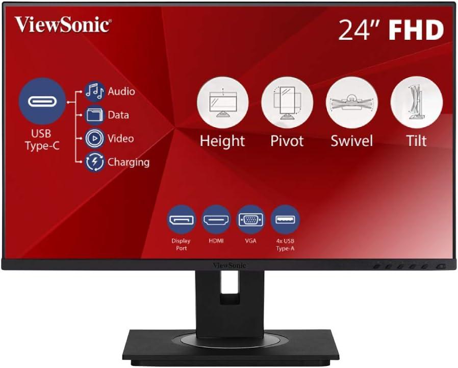 USB-C Monitor Viewsonic VG2455